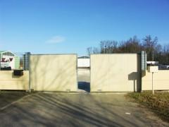portail industriel deux vantaux