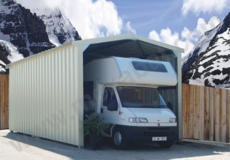 Garage camping-car en kit