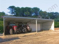 hangar agricole de stockage