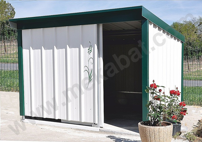 abris de jardin m tal carports abris agricole metallique. Black Bedroom Furniture Sets. Home Design Ideas