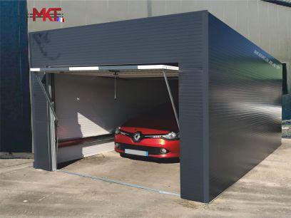 Garage voiture métallique